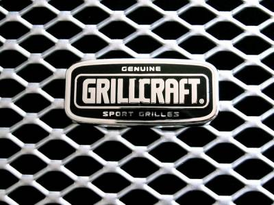 Grillcraft - Ford Superduty MX Series Silver Upper Insert Grille - 6PC - FOR-1356-S
