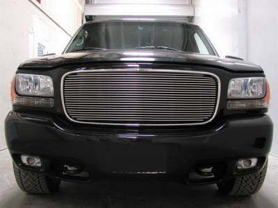 Grillcraft - GMC Denali BG Series Black Billet Upper Grille - GMC-2011-BAC
