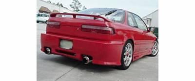 Sense - Acura Integra Sense Blitz Rear Bumper - B24