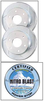 PowerStop - Power Stop Cryo Rotors - Front & Rear - AR8742CPR