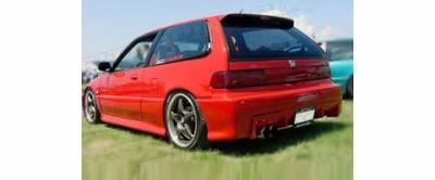 Sense - Honda Civic Sense Buddy Club Style Rear Bumper - BD-20R