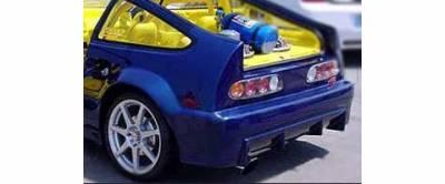 Sense - Honda CRX Sense Buddy Club Style Rear Bumper - BD-21R