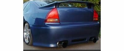 Sense - Honda Prelude Sense Black Widow Style Rear Bumper - BW-50R