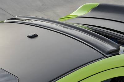 GT Styling - Dodge Charger GT Styling Solarwing II Rear Window Spoiler - Smoke - 51663