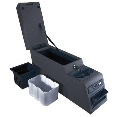 Omix - Rugged Ridge Locking Console - Black - 31501