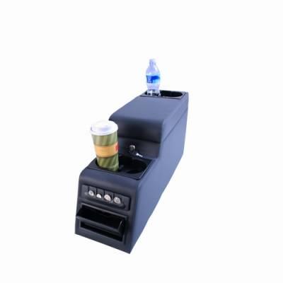 Omix - Rugged Ridge Locking Console - Denim Black - 31515