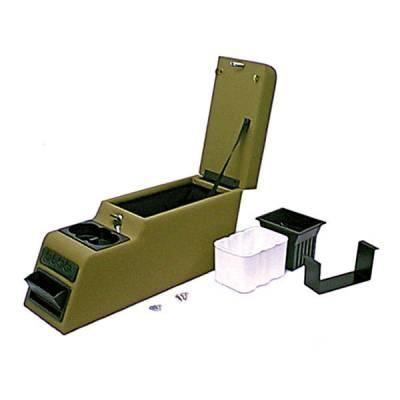 Omix - Rugged Ridge Locking Console - Spice - 31517