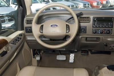Putco - Ford F350 Superduty Putco Track Design Liquid Pedals - 932060