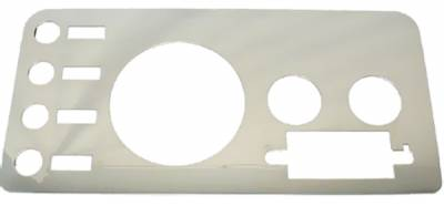 Omix - Rugged Ridge Gauge Cover - Stainless - 11124-01