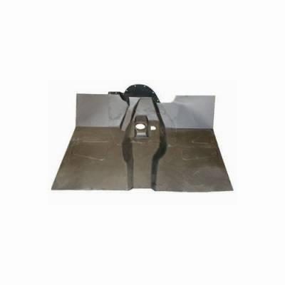 Omix - Omix Floor Pan - Steel - Front - 12007-04