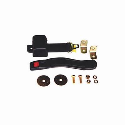 Omix - Omix Seat Belt - 3 Point Shoulder Harness - Front Retractable Lab Belt - 13202-02