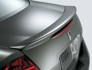 DAR Spoilers - Honda Accord 4Dr DAR Spoilers OEM Look Trunk Lip Wing w/o Light ABS-506