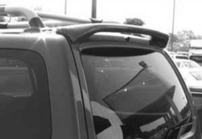DAR Spoilers - Nissan Xterra DAR Spoilers Custom Roof Wing w/o Light ABS-530