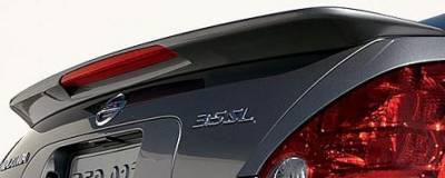 DAR Spoilers - Nissan Maxima DAR Spoilers OEM Look Flush Wing w/ Light ABS-701