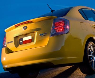 DAR Spoilers - Nissan Sentra Se-R DAR Spoilers OEM Look Flush Wing w/ Light ABS-706