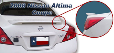 DAR Spoilers - Nissan Altima Coupe DAR Spoilers Custom 3 Post Wing w/o Light ABS-710