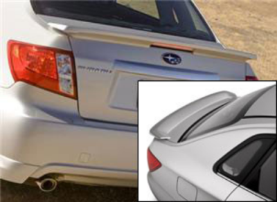 DAR Spoilers - Subaru Impreza DAR Spoilers OEM Look Flush Wing w/ Light ABS-715