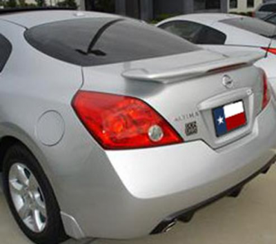 DAR Spoilers - Nissan Altima Coupe (G35 Inspired) DAR Spoilers Custom Flush Wing w/ Light ABS-716L