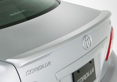 DAR Spoilers - Toyota Corolla DAR Spoilers OEM Look Trunk Lip Wing w/o Light ABS-719