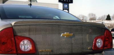 DAR Spoilers - Chevrolet Malibu DAR Spoilers Custom Trunk Lip Wing w/o Light ABS-727