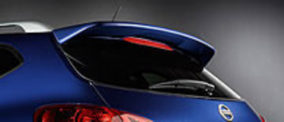 DAR Spoilers - Nissan Rogue Select DAR Spoilers OEM Look Roof Wing w/o Light ABS-730
