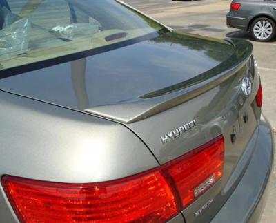DAR Spoilers - Hyundai Sonata DAR Spoilers Custom Trunk Lip Wing w/o Light ABS-733