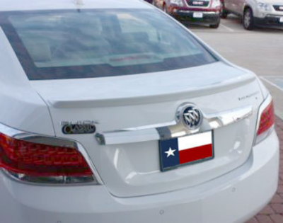 DAR Spoilers - Buick Lacrosse DAR Spoilers OEM Look Trunk Lip Wing w/o Light ABS-740