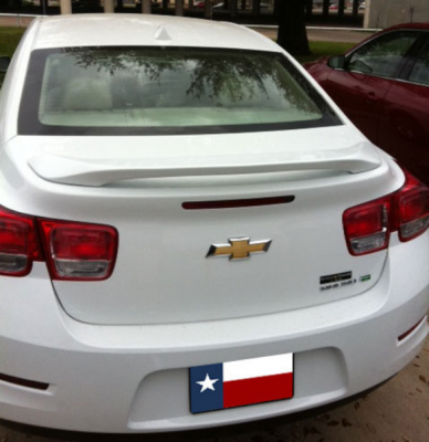 DAR Spoilers - Chevrolet Malibu DAR Spoilers Custom 3 Post Wing w/o Light ABS-763