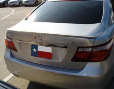 DAR Spoilers - Lexus LS460 (Small) DAR Spoilers Custom Trunk Lip Wing w/o Light ABS-765