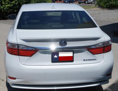 DAR Spoilers - Lexus ES DAR Spoilers OEM Look Trunk Lip Wing w/o Light ABS-769