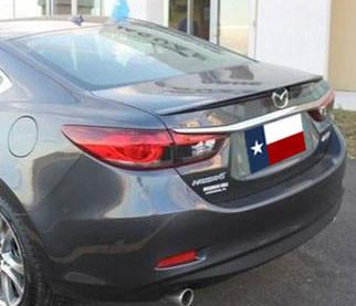 DAR Spoilers - Mazda 6 Sedan DAR Spoilers OEM Look Trunk Lip Wing w/o Light ABS-770