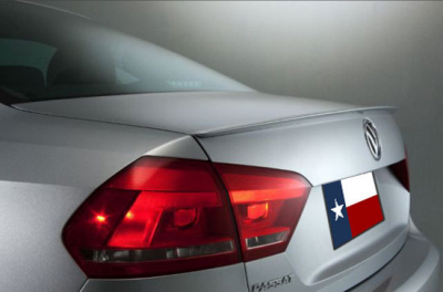 DAR Spoilers - Volkswagen Passat DAR Spoilers OEM Look Trunk Lip Wing w/o Light ABS-774