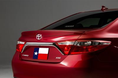DAR Spoilers - Toyota Camry DAR Spoilers OEM Look Trunk Lip Wing w/o Light ABS-785
