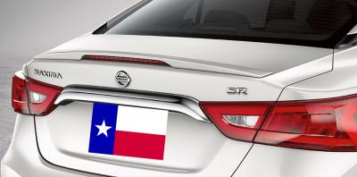DAR Spoilers - Nissan Maxima (Sm) DAR Spoilers OEM Look Trunk Lip Wing w/ Light ABS-791