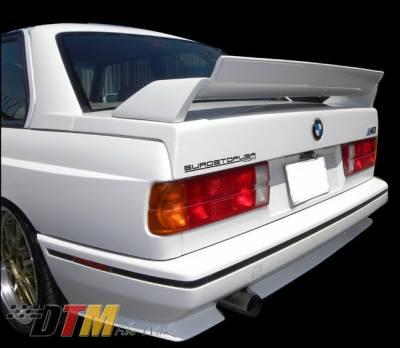 DTM Fiberwerkz - BMW 3 Series DTM Fiberwerkz M3 Evo DTM Style Spoiler - E30 M3 Evo D