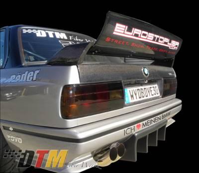 DTM Fiberwerkz - BMW 3 Series DTM Fiberwerkz Evo DTM Style Spoiler - E30 Evo DTM