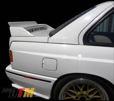 DTM Fiberwerkz - BMW 3 Series DTM Fiberwerkz Evo Spoiler - E30-M3-EVO-D