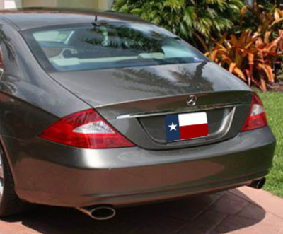 DAR Spoilers - Mercedes CLS DAR Spoilers OEM Look Trunk Lip Wing w/o Light FG-005