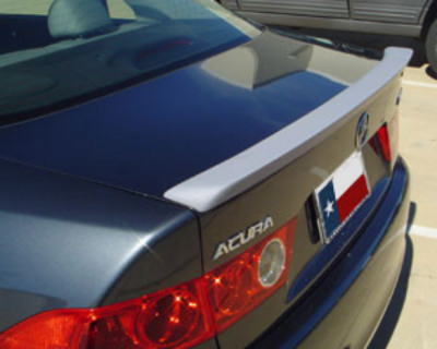 DAR Spoilers - Acura TSX DAR Spoilers Custom Trunk Lip Wing w/o Light FG-010