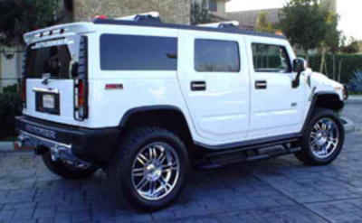 DAR Spoilers - General Motors Hummer H2 DAR Spoilers Custom Roof Wing w/o Light FG-012