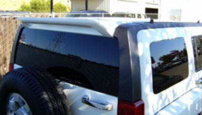 DAR Spoilers - General Motors Hummer H3 DAR Spoilers Custom Roof Wing w/o Light FG-013