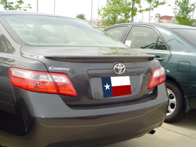 DAR Spoilers - Toyota Camry DAR Spoilers OEM Look Trunk Lip Wing w/o Light FG-017