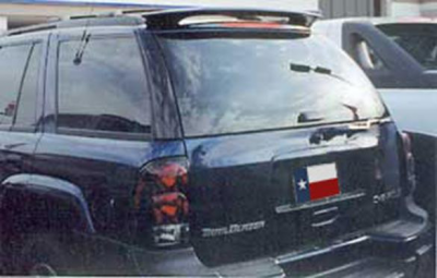 DAR Spoilers - Chevrolet Trailblazer (Not Ext) DAR Spoilers Custom Roof Wing w/o Light FG-028