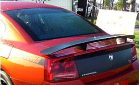 DAR Spoilers - Dodge Charger Daytona Hemi R/T DAR Spoilers OEM Look 3 Post Wing w/o Light FG-032