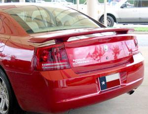 DAR Spoilers - Dodge Charger DAR Spoilers Custom 3 Post Wing w/o Light FG-033