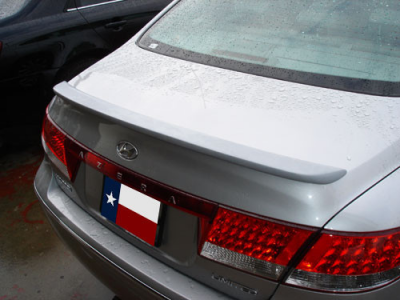DAR Spoilers - Hyundai Azera DAR Spoilers Custom Trunk Lip Wing w/o Light FG-039