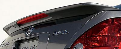 DAR Spoilers - Nissan Maxima DAR Spoilers OEM Look Trunk Lip Wing w/ Light FG-044