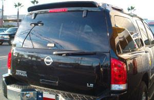 DAR Spoilers - Nissan Armada DAR Spoilers Custom Roof Wing w/o Light FG-045