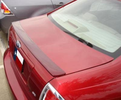 DAR Spoilers - Ford Fusion DAR Spoilers Custom Trunk Lip Wing w/o Light FG-054
