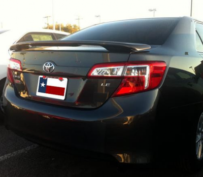 DAR Spoilers - Toyota Camry DAR Spoilers Custom 3 Post Wing w/ Light FG-061